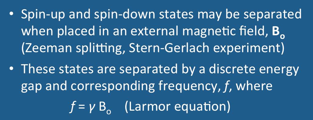 Zeeman splitting - Questions and Answers in MRI