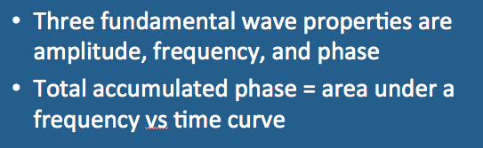 Phase v frequency - Questions and Answers in MRI